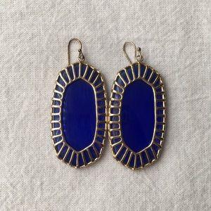 Kendra Scott - Danielle Golf Drop Earrings - Blue